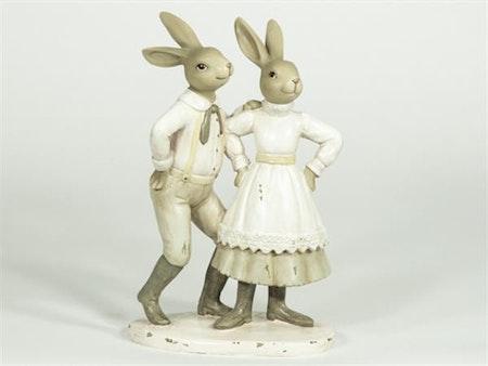 Dansande kaninpar
