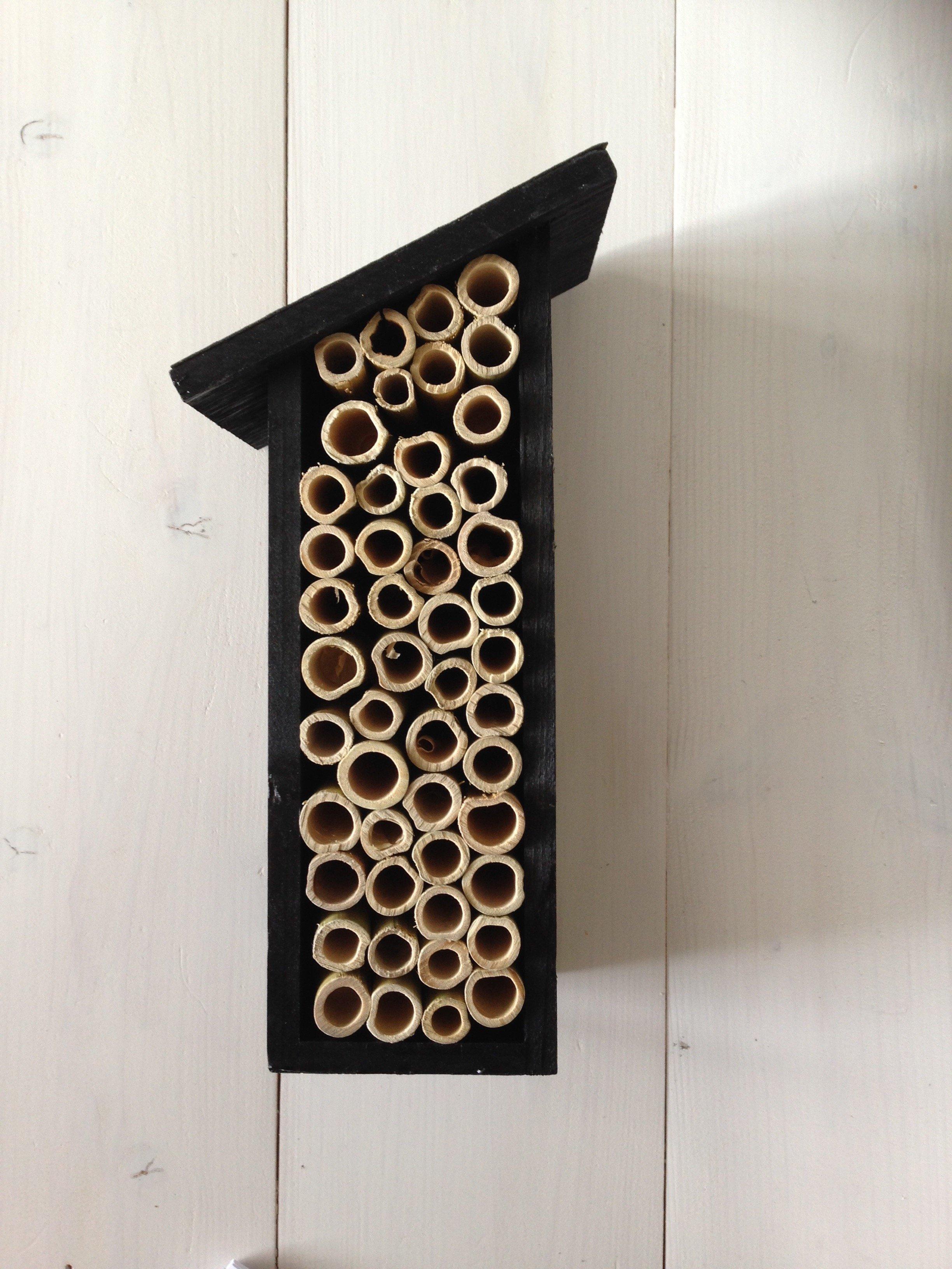 Insektshus för bin/humlor