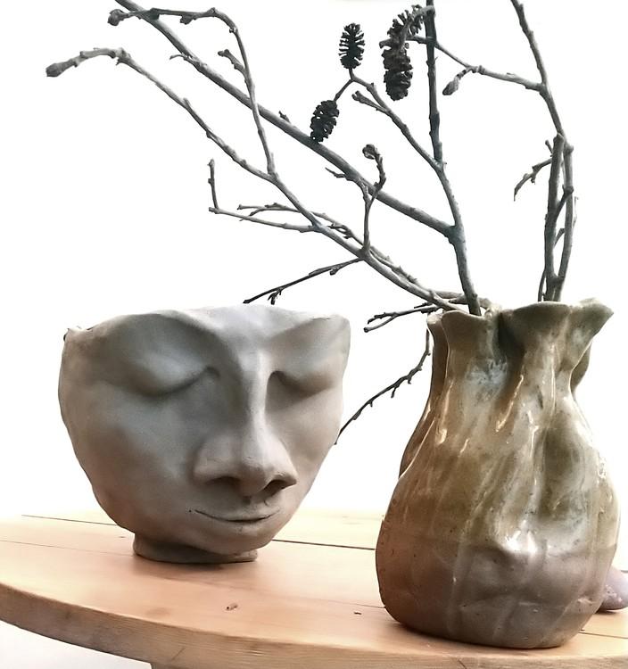 VILSAM , skulpterad ansiktskruka