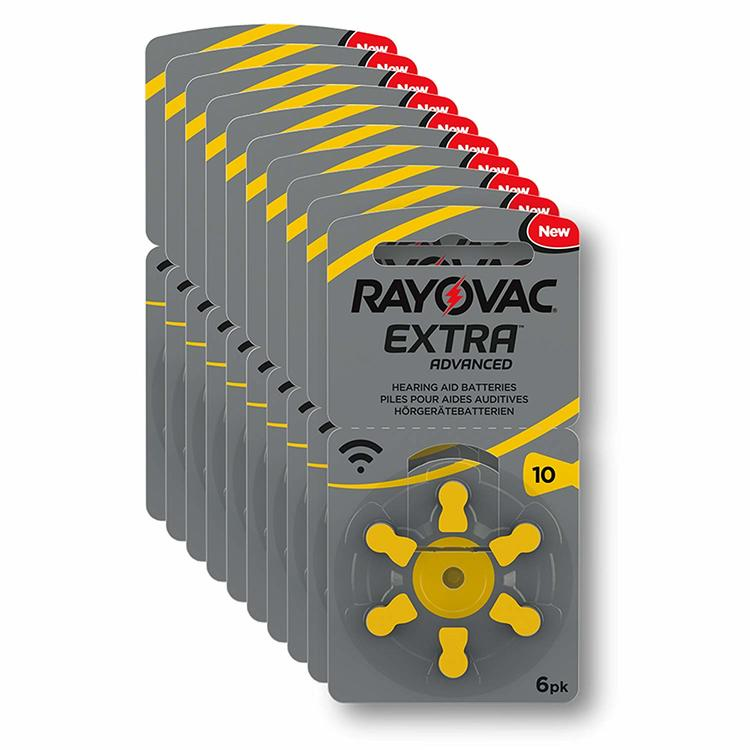 10 Pack Rayovac 10 GUL