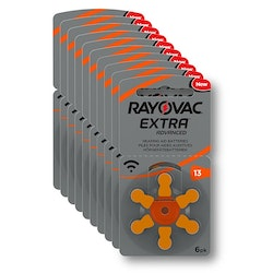 10 Pack Rayovac 13 ORANGE