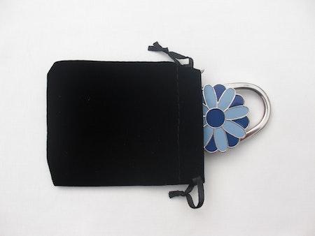 "Väskhängare/ Väskkrok ""Flower"""