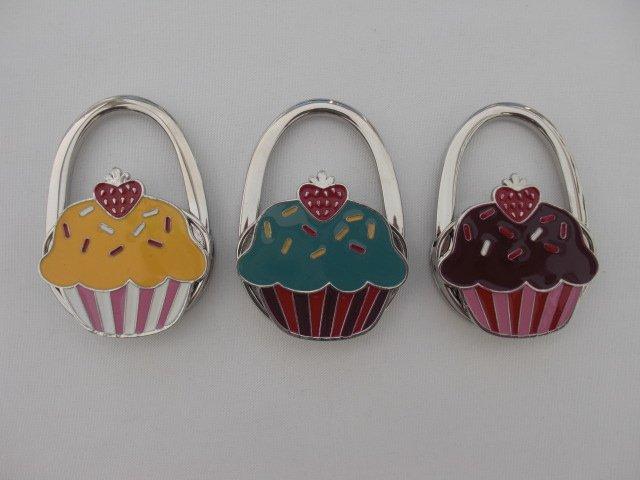 "Väskhängare/ Väskkrok ""Cupcake"""