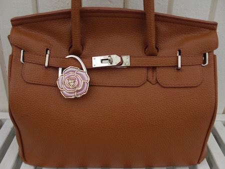 "Väskhängare/ Väskkrok ""Shiny Rose"""