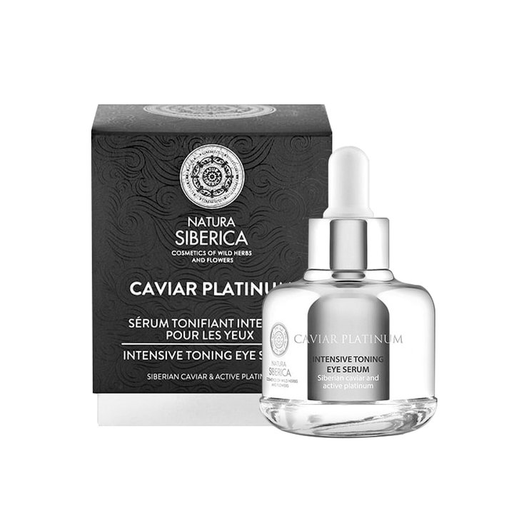 Natura Siberica Caviar Platinum Intensive Toning Eye Serum