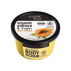 Organic Shop Sugar Body Scrub, Juicy Papaya