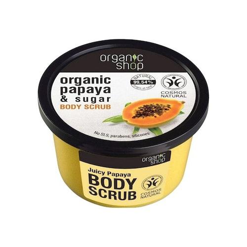 Organic Shop Sugar Body Scrub, Juicy Papaya