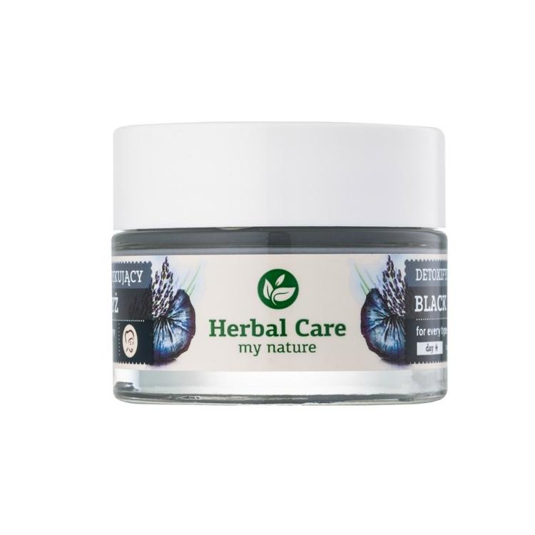 Herbal Care Avgiftande kräm - svart ris