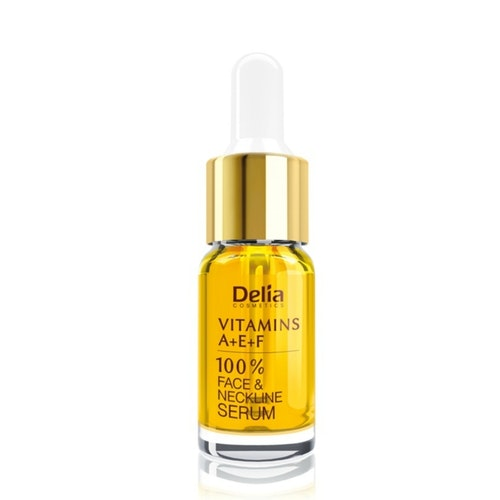 Serum med vitaminer A+E+F för ansikte, hals, dekoltage