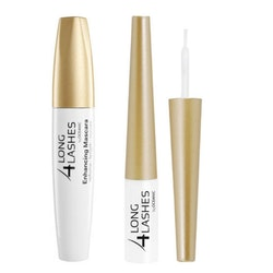 Long 4 Lashes ögonfransserum + ENHANCING MASCARA med Biotin