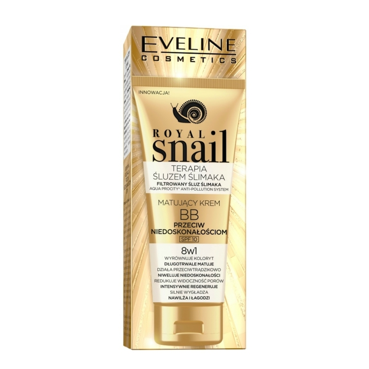 Royal Snail BB Matting Kräm 8 i 1 med SPF 10