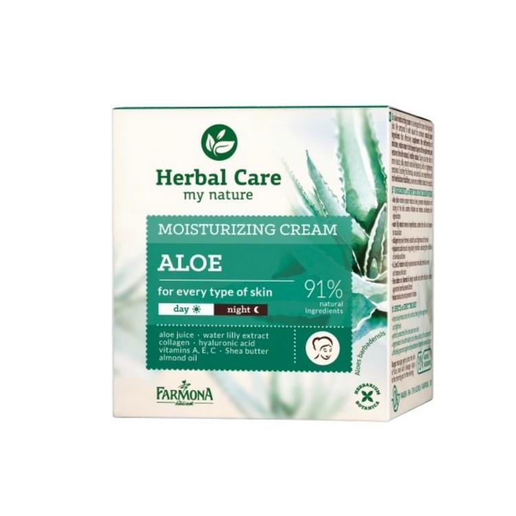 Herbal Care Återfuktande och utjämnande Dag/ Nattkräm