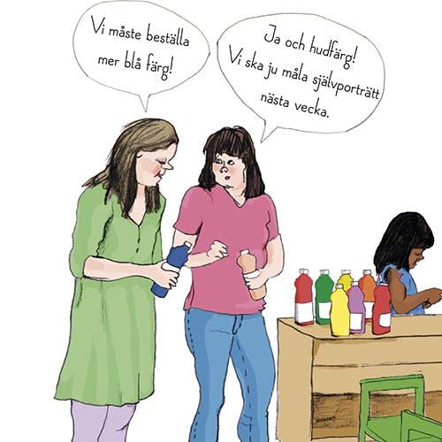 Boken normkreativitet i förskolan, pedagogisk vägledning, behandlar de olika diskrimineringsgrunderna. Olika förlag.