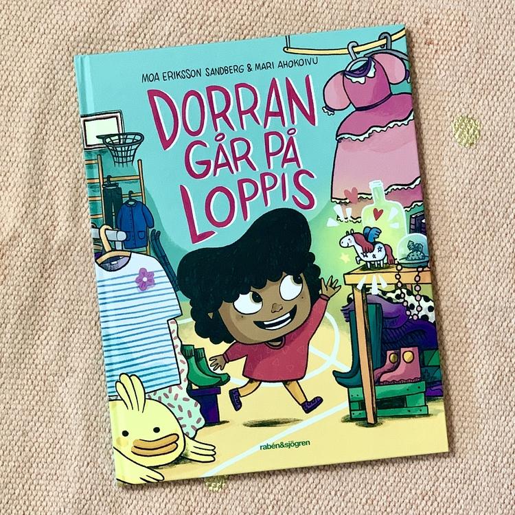 Bilderboken Dorran går på loppis, en inkluderande barnbok från 3 år. En bok om känslor som många barn kan relatera till.