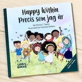 Happy within - Precis som jag är (tvåspråkig bok)