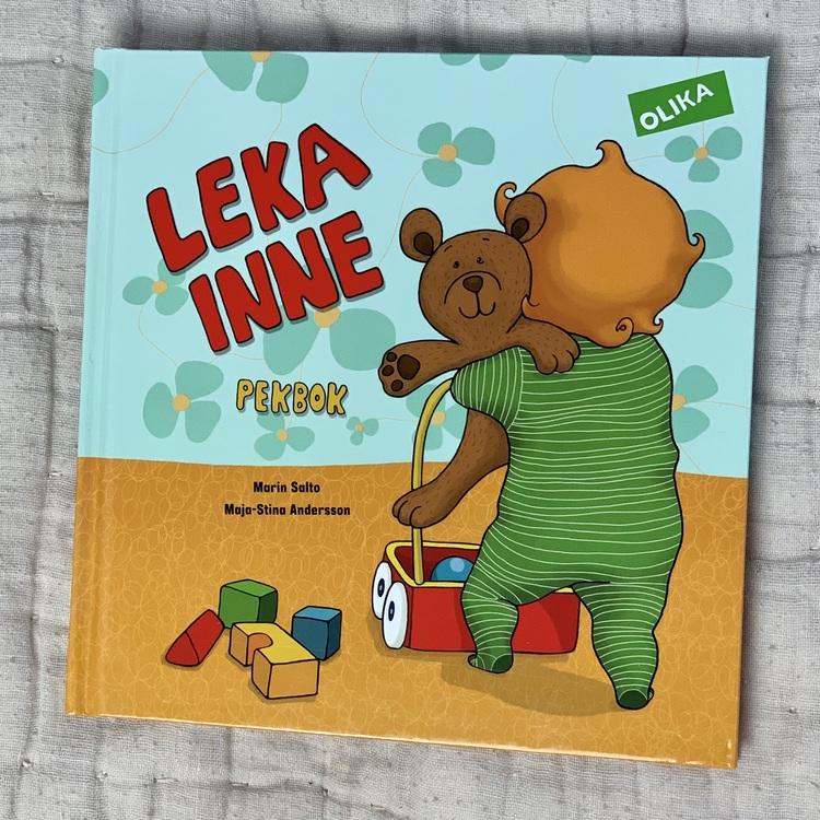 Pekbok med mångfald, Leka inne från Olika förlag, bok för barn från 0 år.