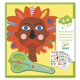 Leka frisör-pyssel (Stickers, Hairdresser)