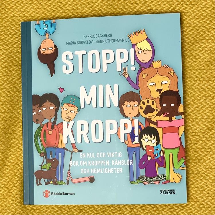 Skolpaket med böcker och leksaker för skolan, med mångfald och genus i åtanke. Boken stopp min kropp! bra läromedel för integritet i skolan.