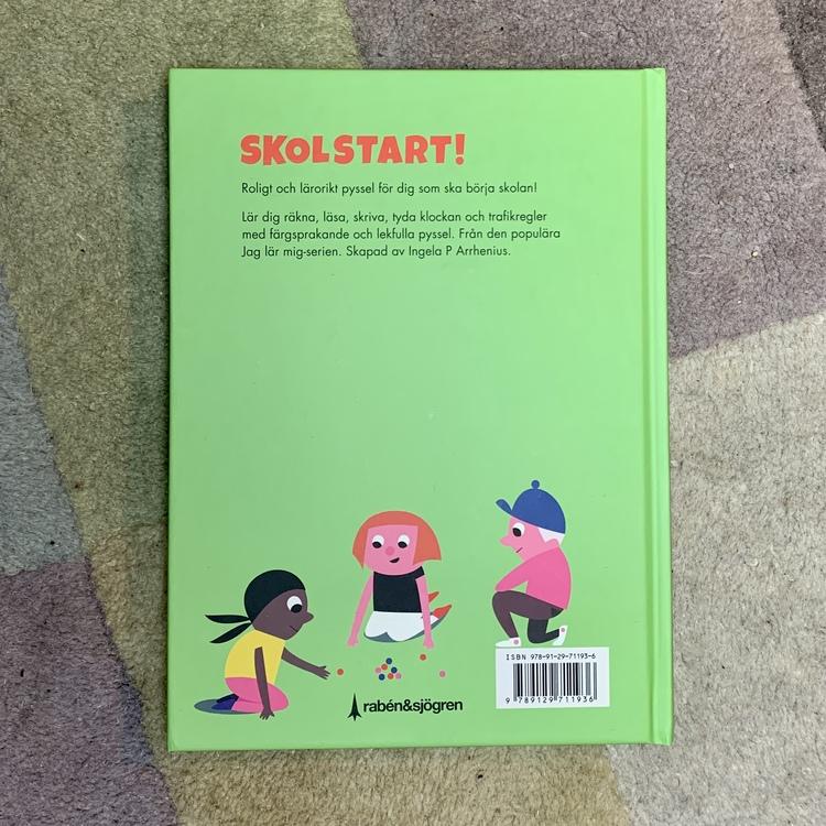 Skolstart! Pyssel för dig som ska börja skolan. Roligt pyssel för barn som ska börja skolan, och perfekt present till en 6 åring.