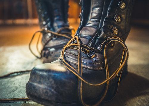 Boots Trätavla