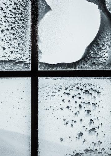 Vinterfönster Poster