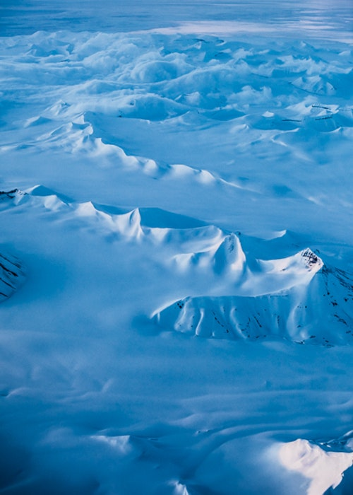 Arctic Mountains Poster