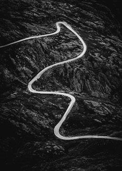 Norwegian Road Poster