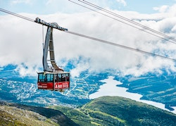 Åre Cable Car Summer Poster