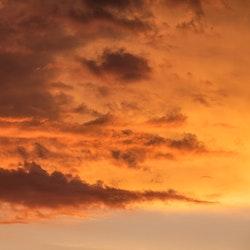 West Coast Sky SQ Canvas