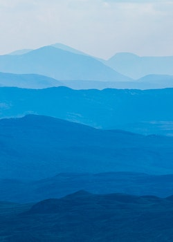 Layers of Jämtland Canvas