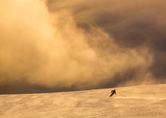 Skier's Right Canvas