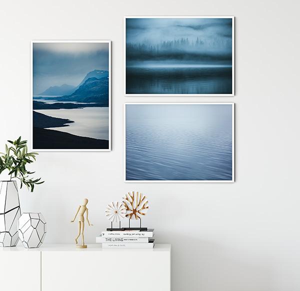 Aqua Poster