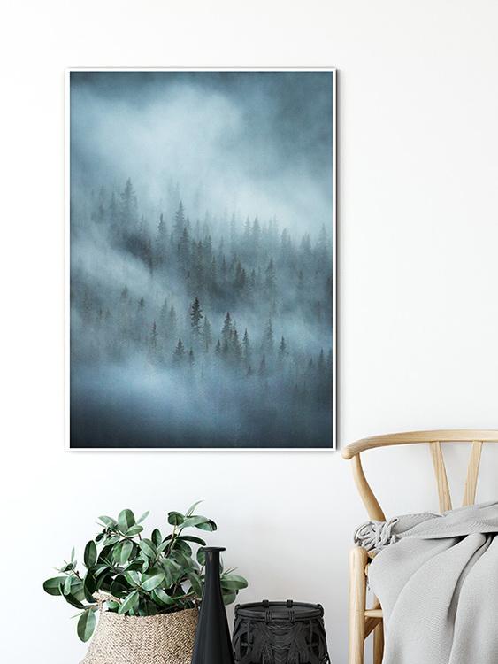 Silva Nebula (Vertical) Poster