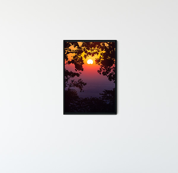 Indian Sunset Poster