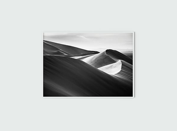 Dunes of Gobi Poster