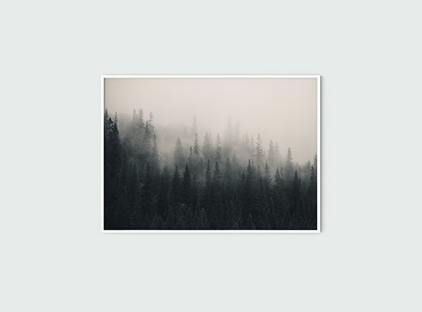 Fading Mist Poster