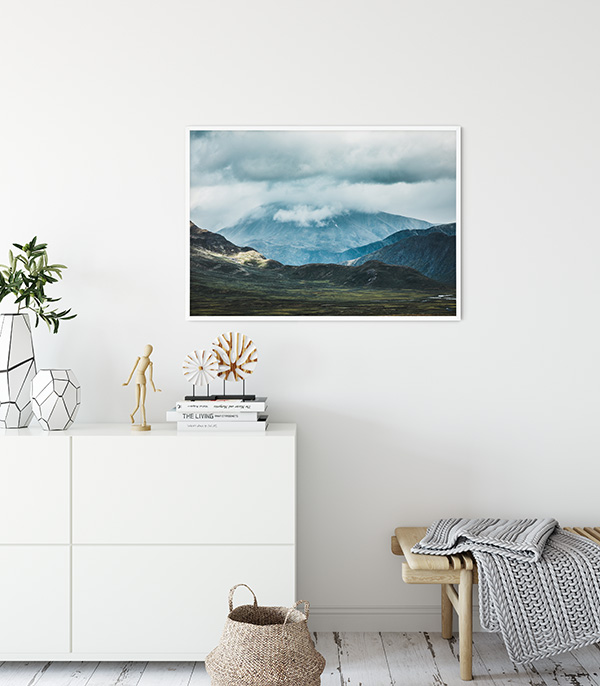Jotunheimen Views Poster