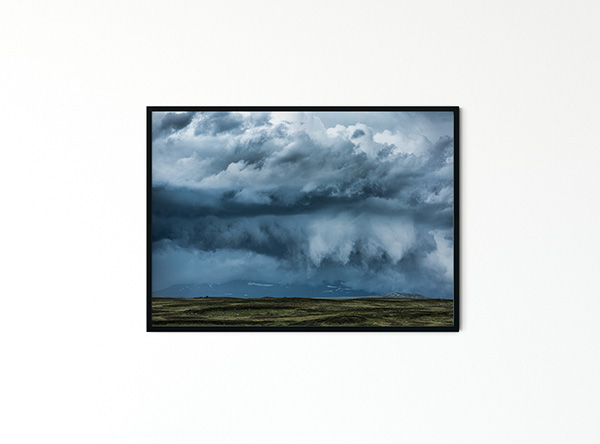Thunder Clouds Poster