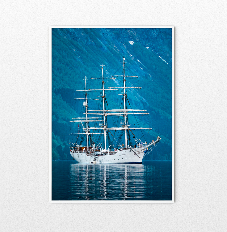 Sailing Ship Radich Poster