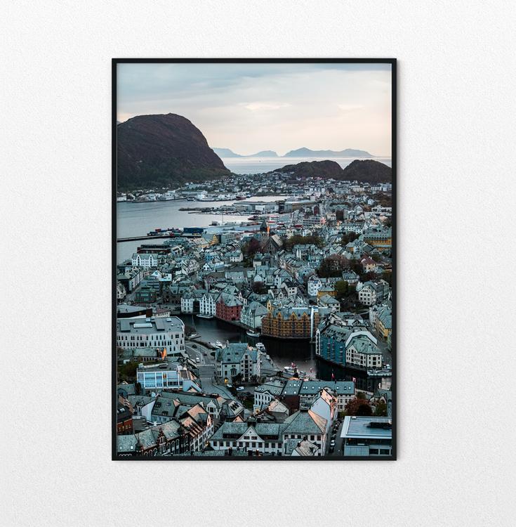 City of Ålesund Poster