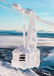Åre Frozen Cable Car Poster