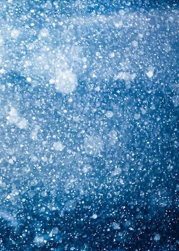 Snöfall Poster