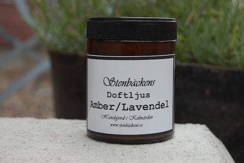 Doftljus Amber & Lavendel