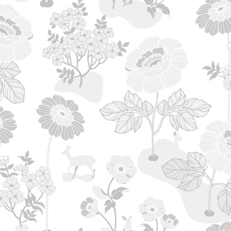 Blomsteräng Silver