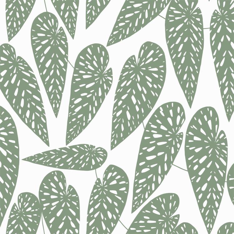 Jungle Vit / Grön