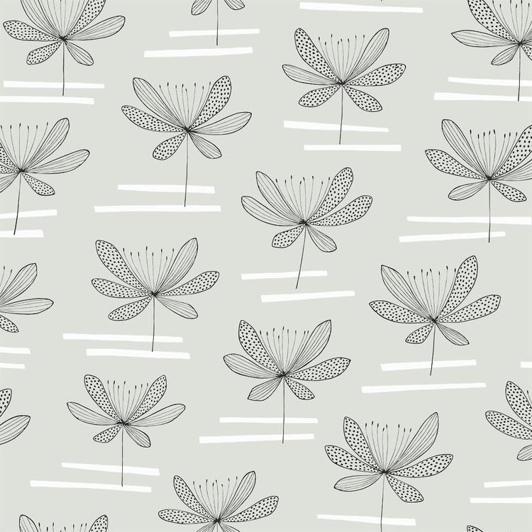 Water Lily Ljus Mintgrön