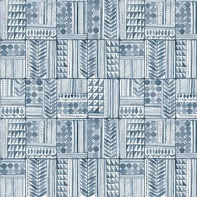 Patchwork Azul Tinta