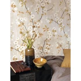 Spring Flower Taupe / Noir