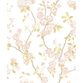 Spring Flower Taupe / Rose