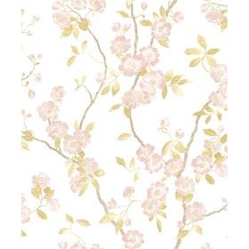 Spring Flower Taupe / Rose